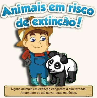Animais em Extinção