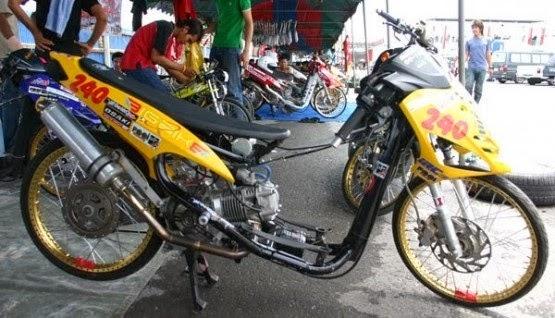 Gambar Motor Drag Yamaha MIO