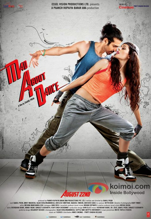 M.A.D: Mad About Dance 2014 Hindi 480P HDRip 300MB, Mad about Dance 2014 hindi movie dvdrip 480p free download 400mb or watch online at world4ufree.cc