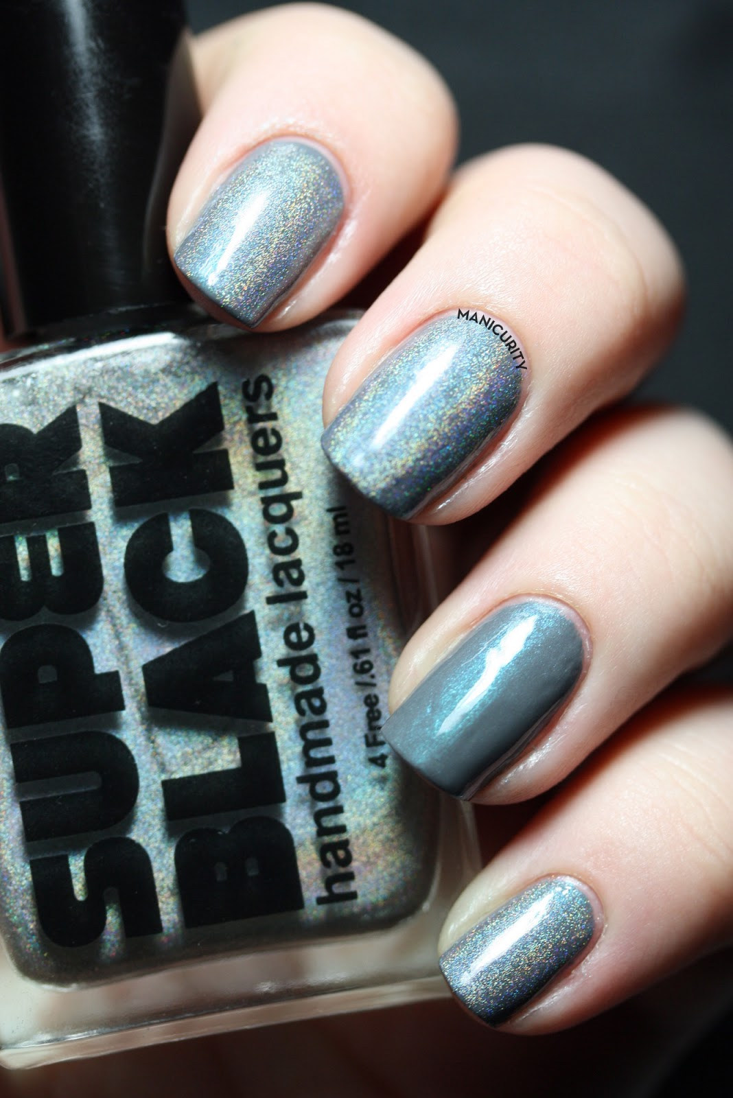 Manicurity: Super Black Lacquers Swatches & Review