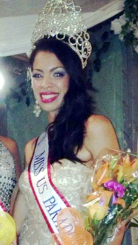 Miss US Virgin Islands Paradise World 2013 Petra Cabrera