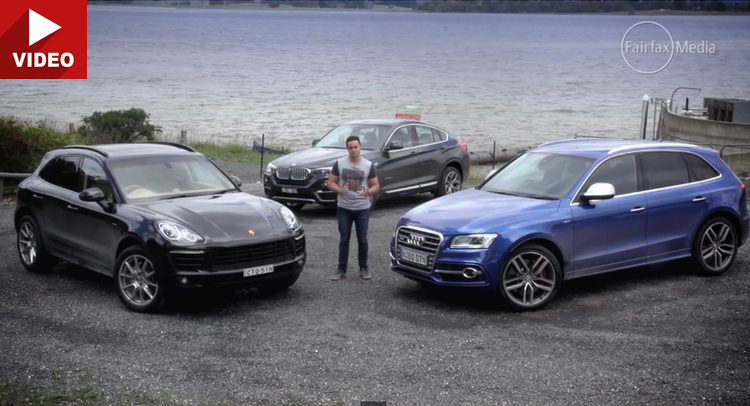 Audi Sq5 Faces Off Bmw X4 And Porsche Macan In Diesel
