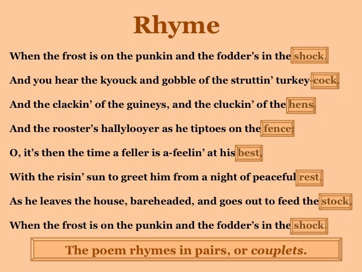Design Rhythm Examples Of Rhythmic Poems Beat