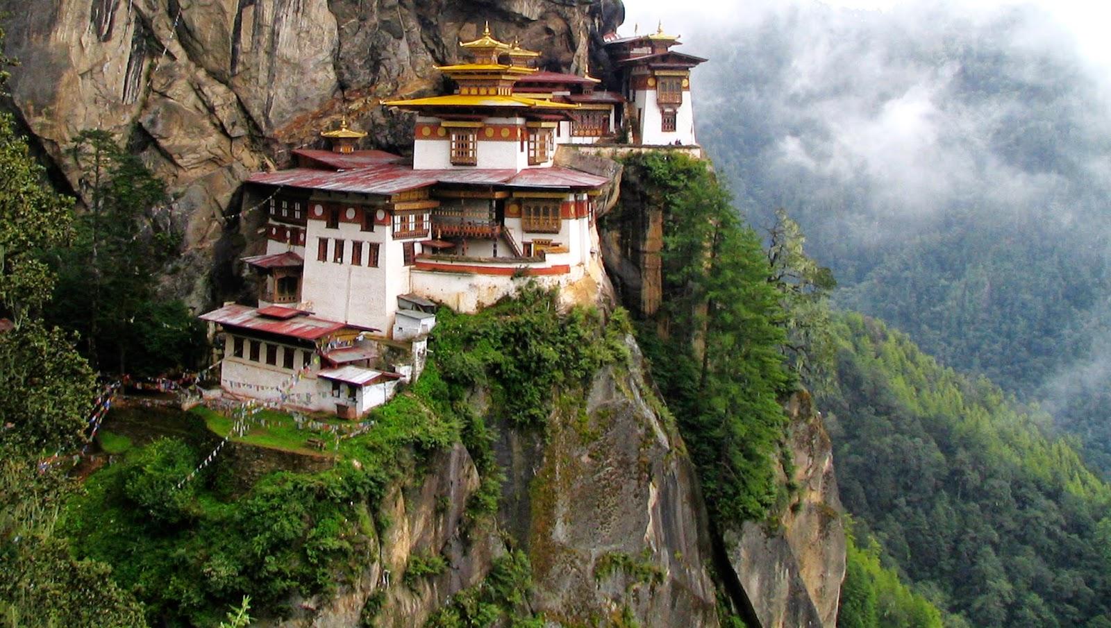 Monasterio de Tiger's Nest, Bután