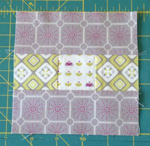 Add the shorter Fabric Two rectangles