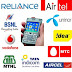 2G/3G APN / Access Point Name List - Airtel, Vodafone, Idea, Tata DoCoMo, BSNL, Aircel, Reliance