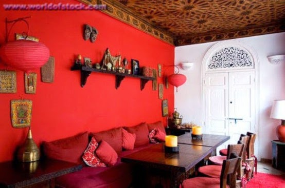 تصميمات رائعه لغرف المعيشه المغربيه  Exquisite-moroccan-dining-room-designs-32-554x367