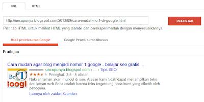 Cara membuat breadcrumbs terindex di google
