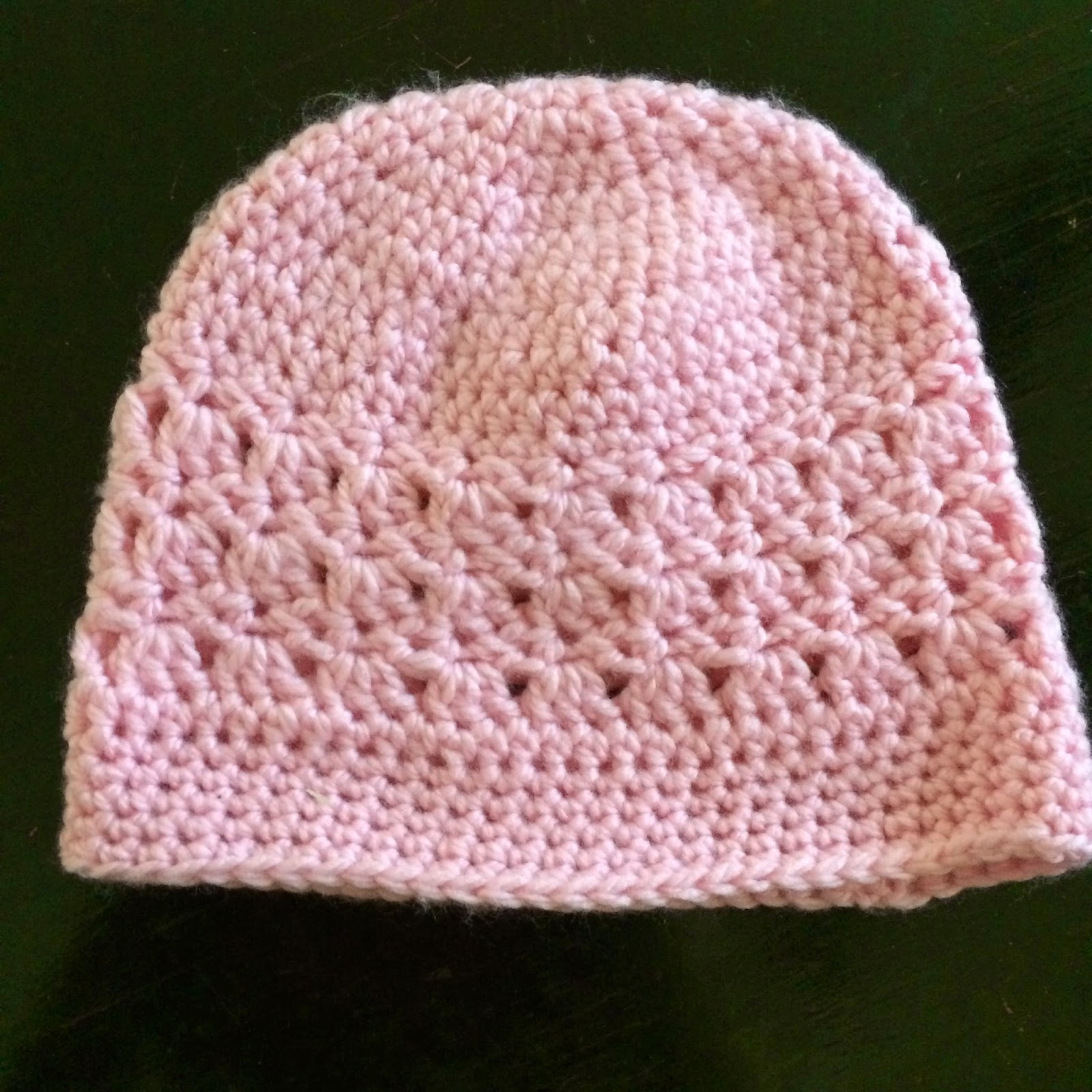 Crochet Chemo Cap - Free Pattern Not My Nanas Crochet!