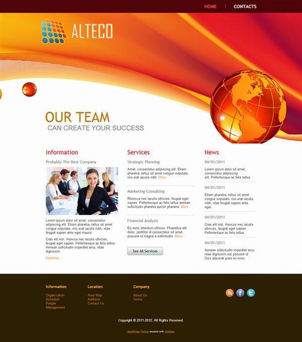Alteco - Free Wordpress Theme