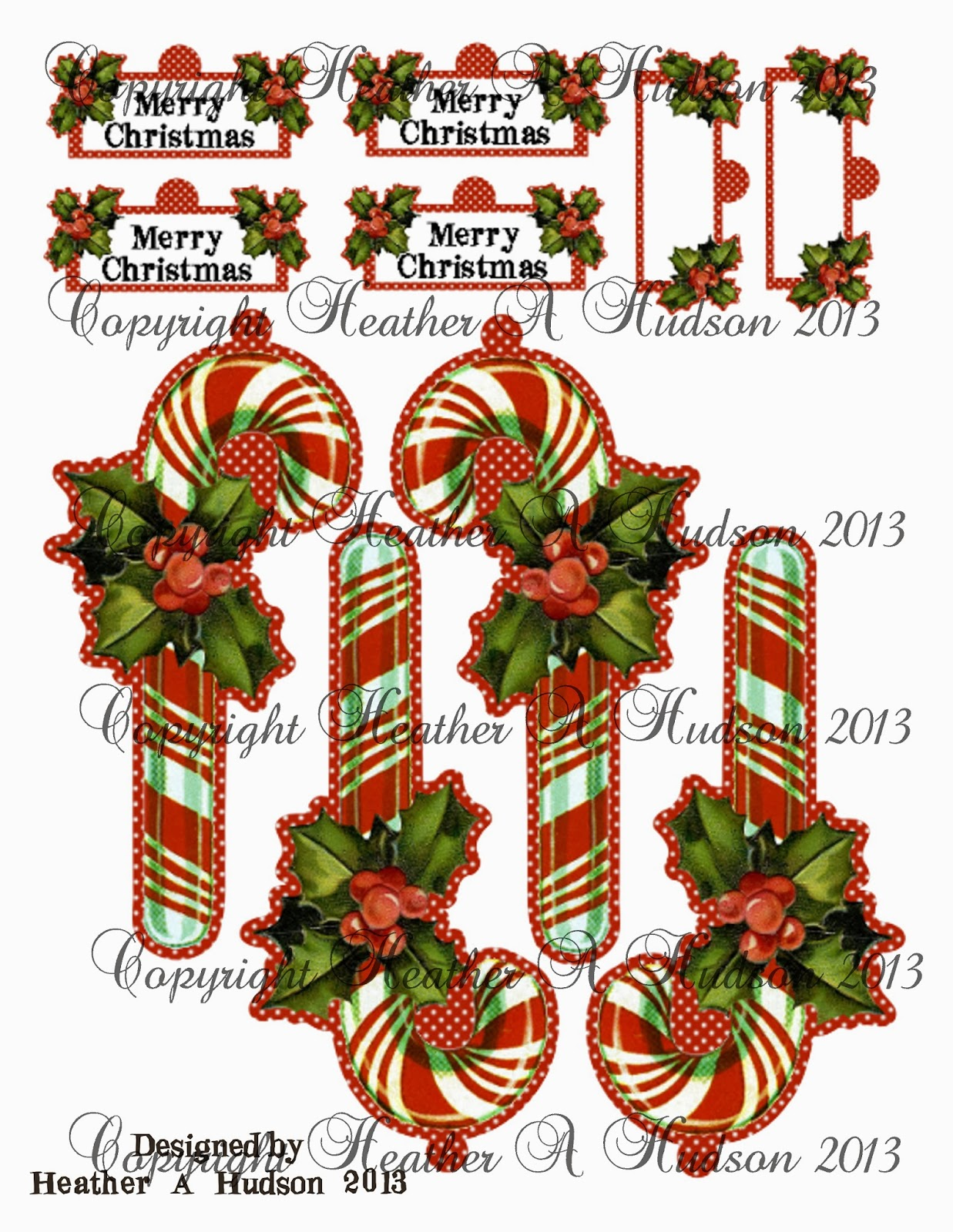 Large candy cane ornaments - Page Two Larger Candy Canes Here Is What Your Ornament Can Look