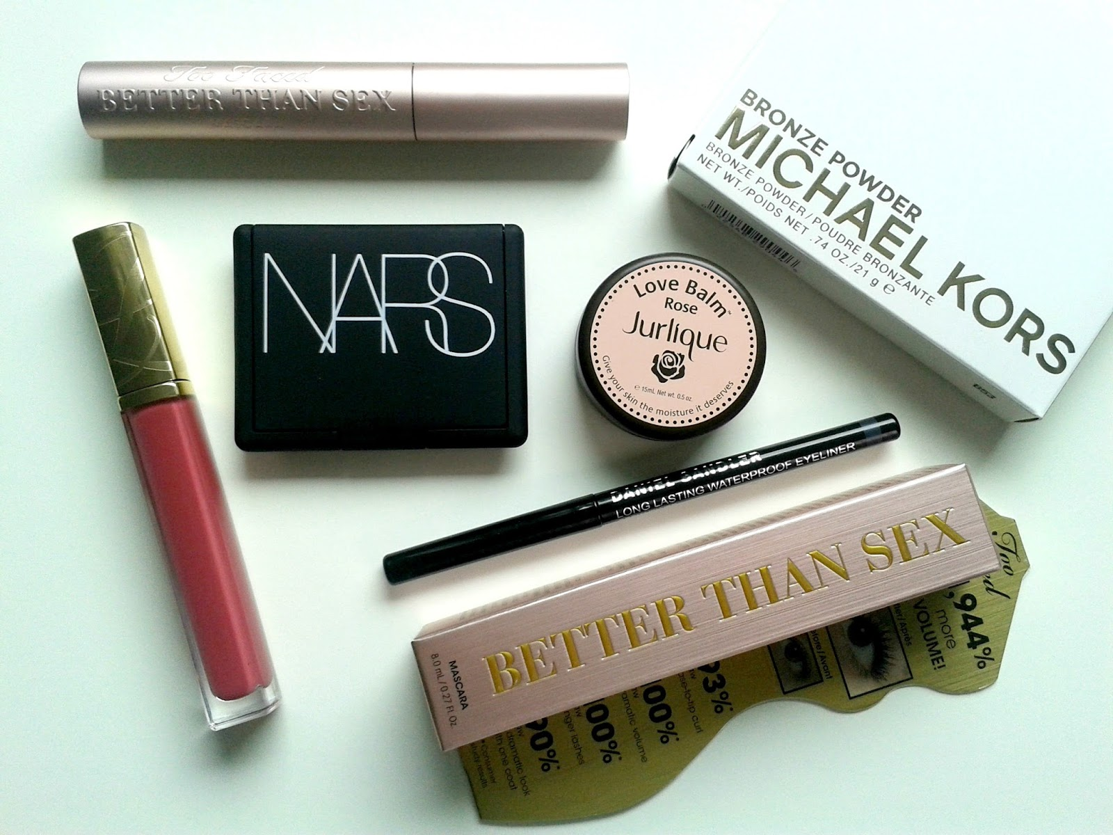 Ellis Tuesday's Summer Sun-days: Luxury Make-up Beauty Review Estee Lauder NARS Jurlique Michael Kors Too Faced Daniel Sandler