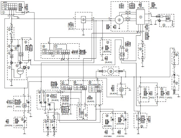 wiring diagram for yamaha big bear 400 with Yamaha Wiring System on Polaris Xplorer 400 4x4 Wiring Diagram furthermore Honda Rancher 350 Wiring Diagram furthermore Yamaha Wiring System as well T2363 Wire Diagram Of 06 660 Dash likewise Bearingsseals.