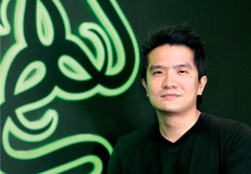 Razer's CEO, Co-Founder and Creative Director Min-Liang Tan