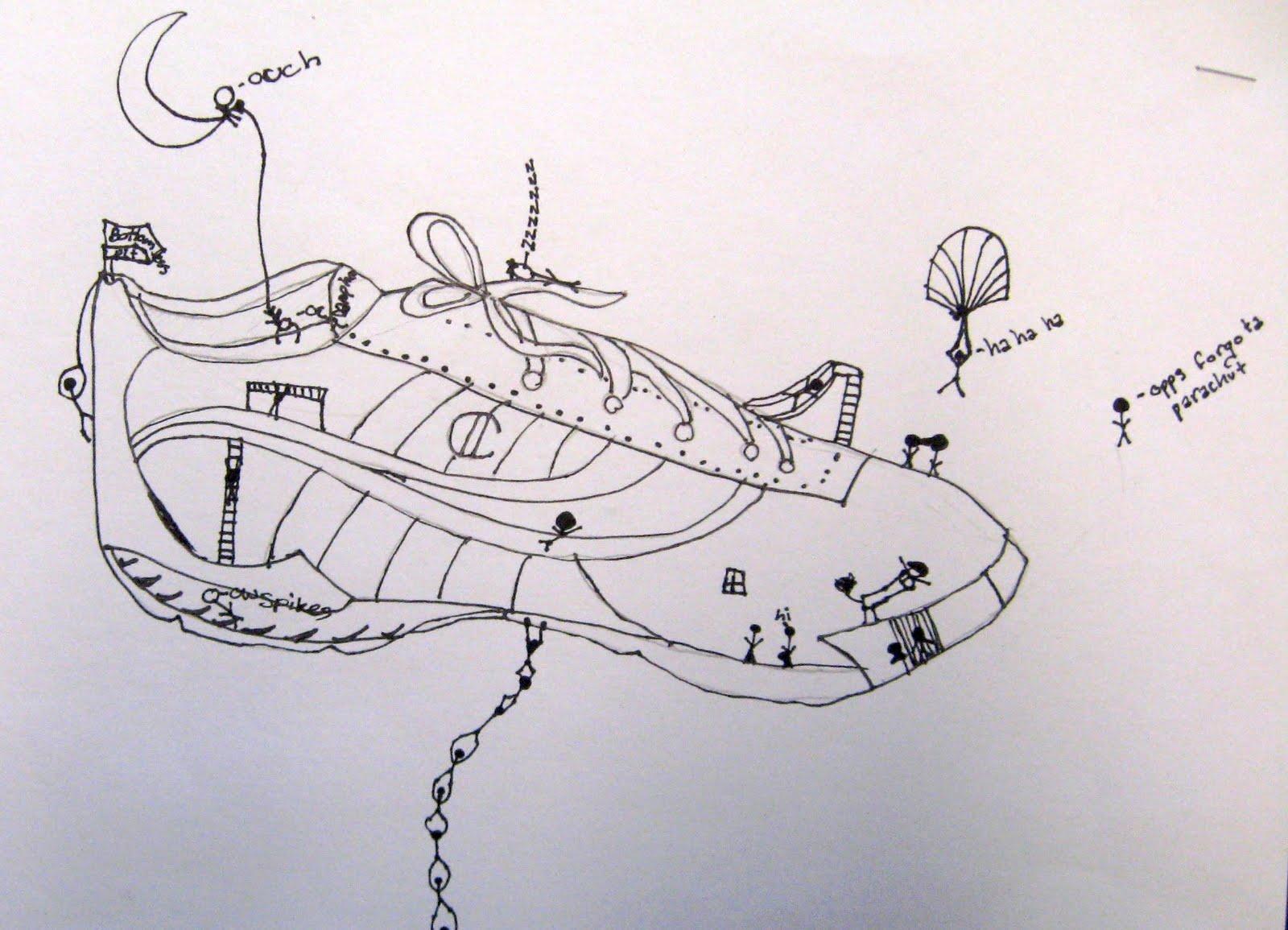 Contour Line Drawing Shoes Lesson Plan : Art is basic teacher contour shoes rd grade