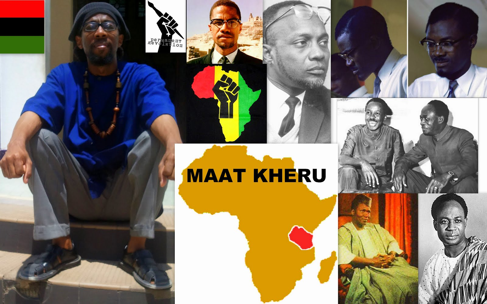 MAAT KHERU: The Voice of 62nd Century KC [21rst Century CE] Pan-Afrikanism