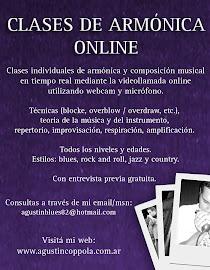 Clases de Armonica Online en Tiempo real