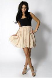 Paprika Frill Dress
