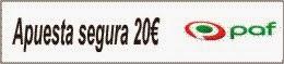 PAF - hasta 20€ gratis
