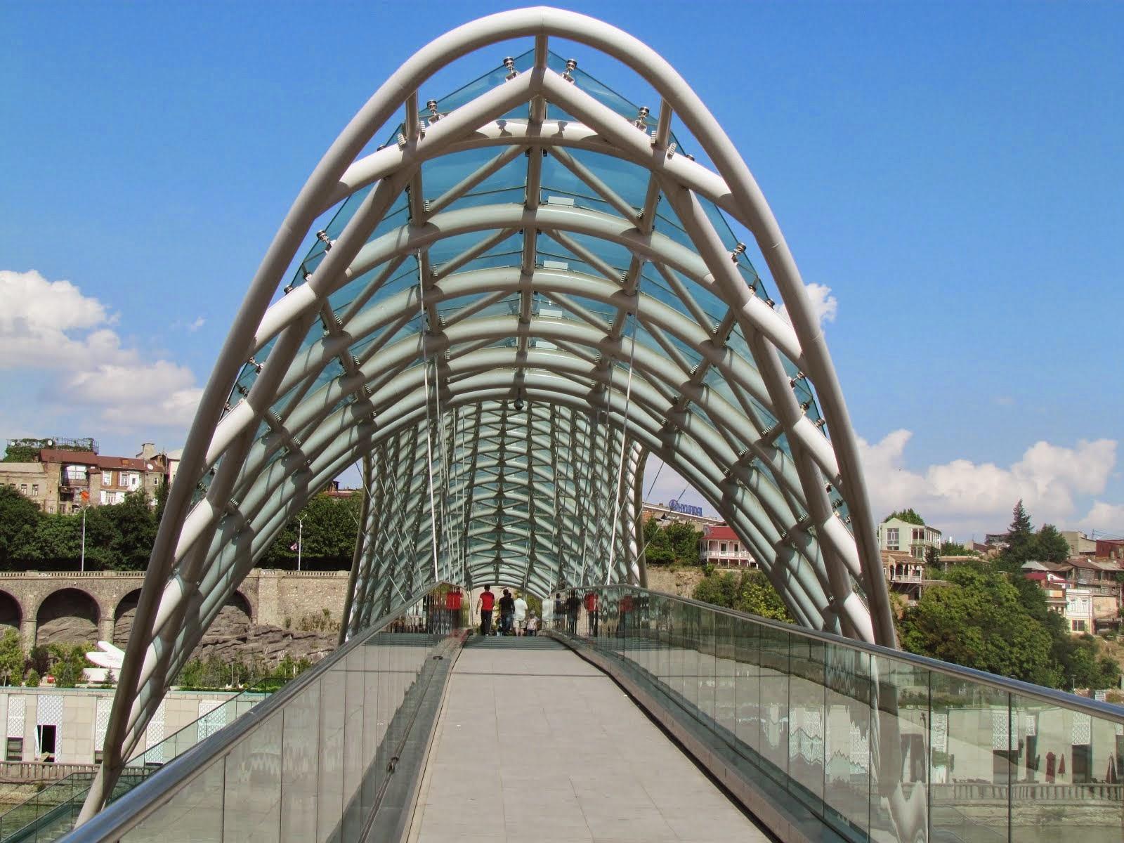 Bridge of Peace, Tbilisi - georgia