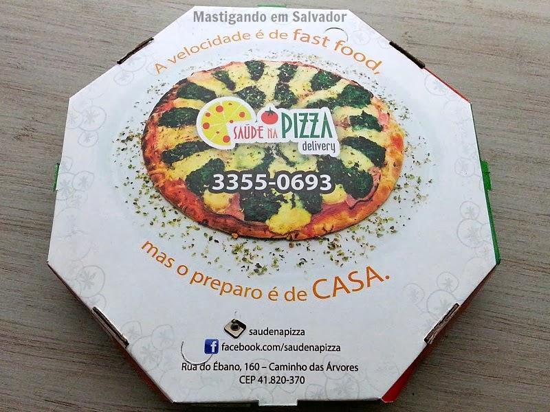 Saúde na Pizza: Embalagem