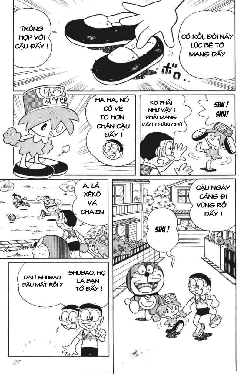 Truyện tranh Doraemon Dài Tập 25 - Nobita và truyền thuyết thần rừng trang 24