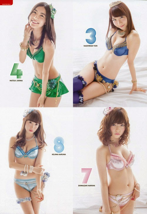 AKB48+General+Election+Swimsuit+Surprise