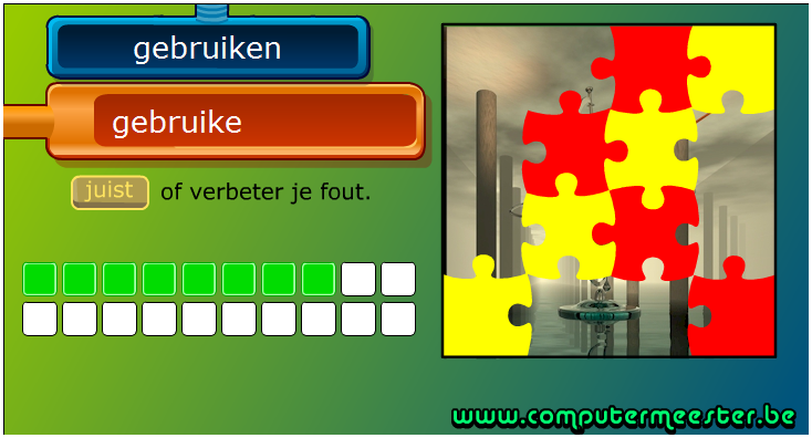 http://www.computermeester.be/spelling-woordpakket-3de-leerjaar.htm