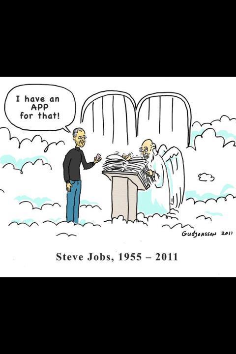 steve jobs cartoon Coloring Page
