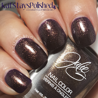 JulieG Nail Color - Core 2015 - Obsessed | Kat Stays Polished