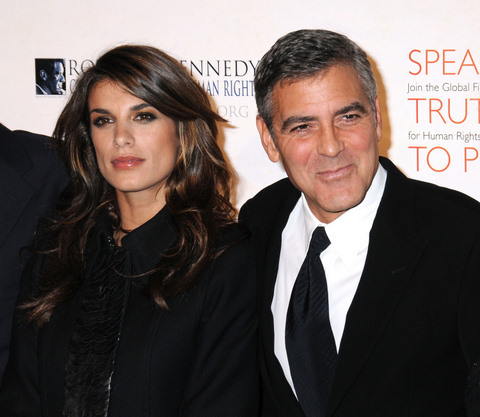 Hollywood george clooney and his girlfriend pics wallpapers 2011