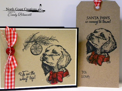 Stamps - North Coast Creations Santa Paws, Our Daily Bread Designs Chickadee Ornament