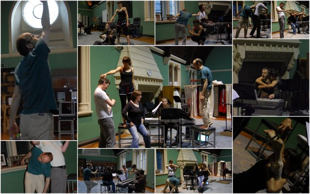 Open Rehearsal Collage