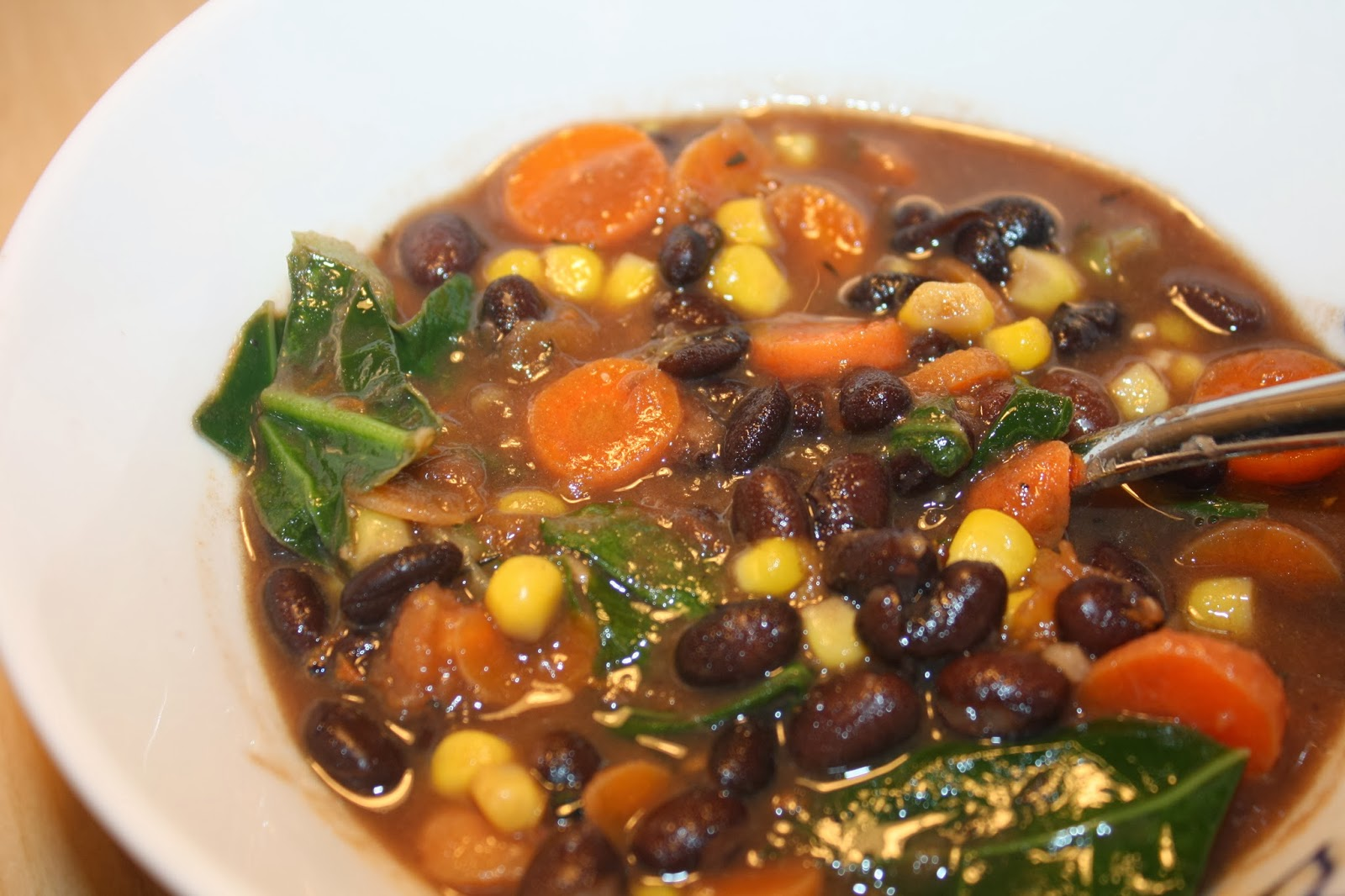 Veg Recipes: Black Bean Very Veggie Soup