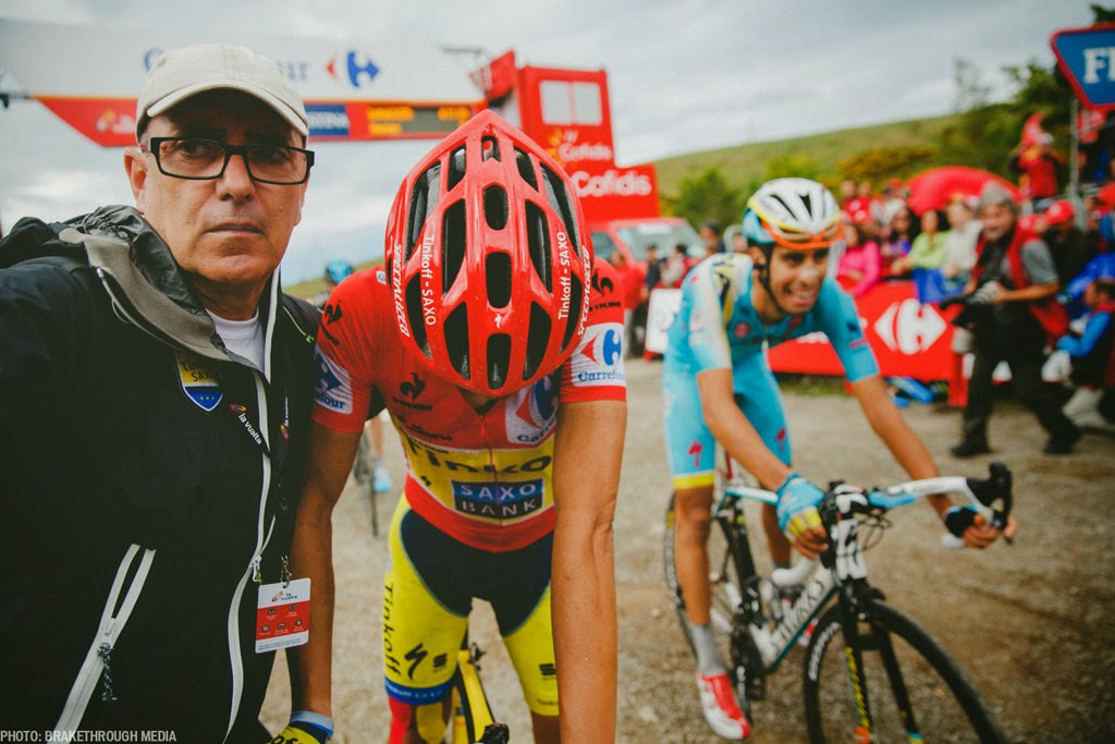 [photo]ブエルタで総合優勝を遂げたアルベルト・コンタドールもprevailを愛用する