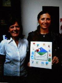 Con Aniko Szabó Patronato de la Infancia