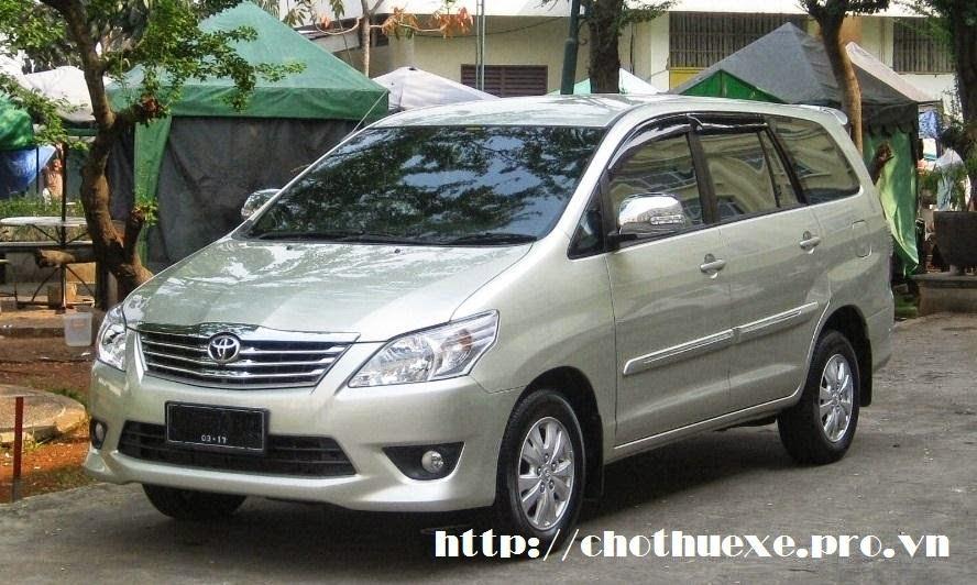 thuê xe Toyota Innova