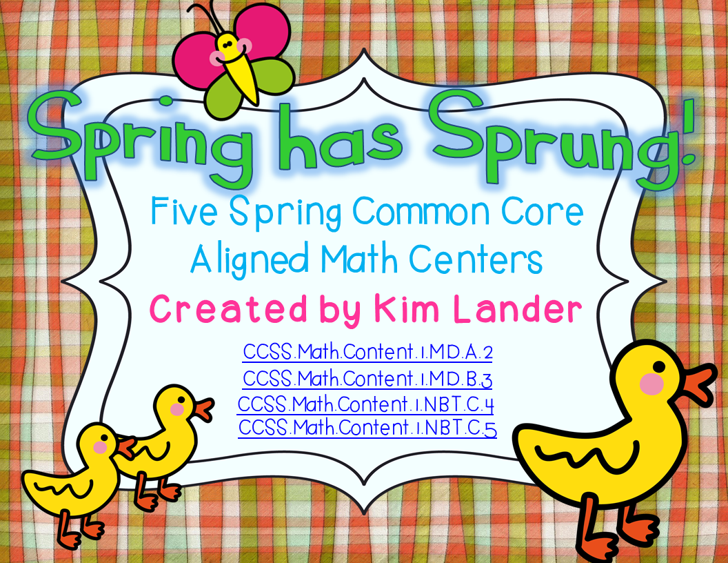http://www.teacherspayteachers.com/Product/Spring-has-Sprung-5-Common-Core-Aligned-Math-Centers-1177541