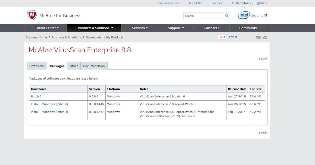 Mcafee Virusscan Enterprise 88 Windows 8 43