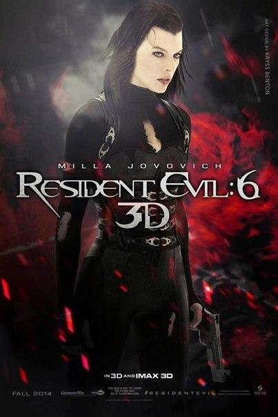 Resident Evil 6: O Capítulo Final – Dublado (2017)