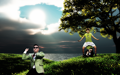 PSY GANGNAM STYLE NATURE WALLPAPERS
