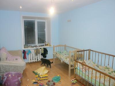 Образец детской комнаты выравнивание стен ламинат