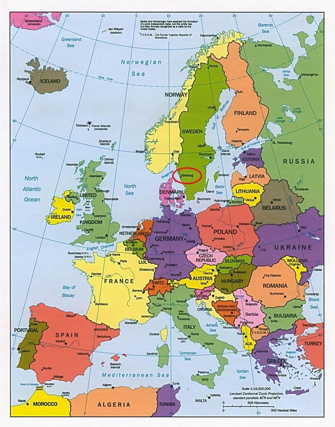 Sweet Virginia Sweden Info - Sweden map arctic circle