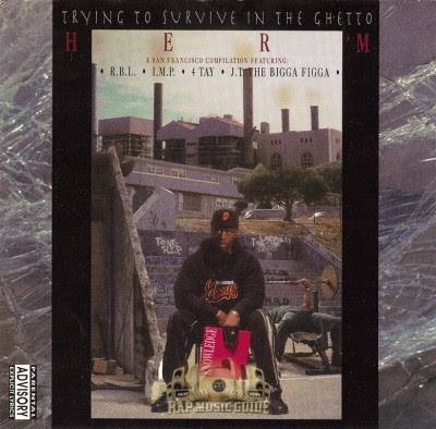 VA – Herm Presetns: Trying To Survive In The Ghetto (CD) (1993) (VBR)