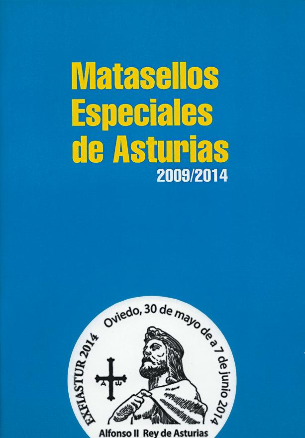 Catálogo de matasellos asturianos de 2009 a 2014