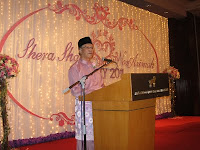 Speech by Shera's dad