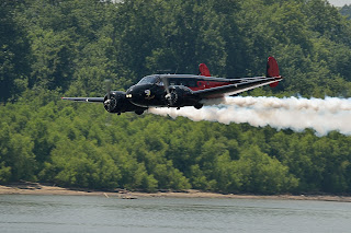 picture of Matt Younkin Air Show at the Evansville Freedom Festival