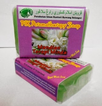 "PIK Aromateraphy Soap "" Mandian Terapi Minda"""