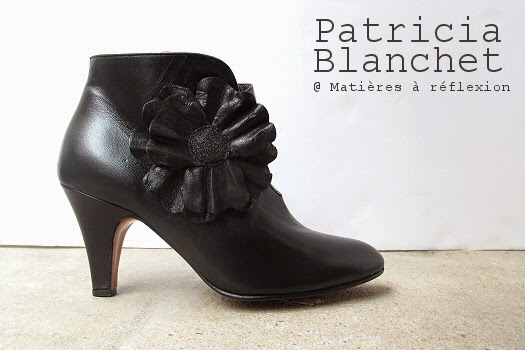 Nouvelle collection Patricia Blanchet  : les Bottines Rosa Bibi
