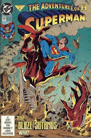 Adventures of Superman 493 1st Satanus